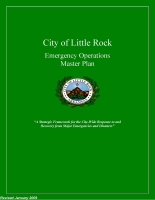 Little Rock Emergency Operations Plan