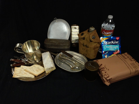 Items shown as part of the Food for Thought educational program to aid learning.