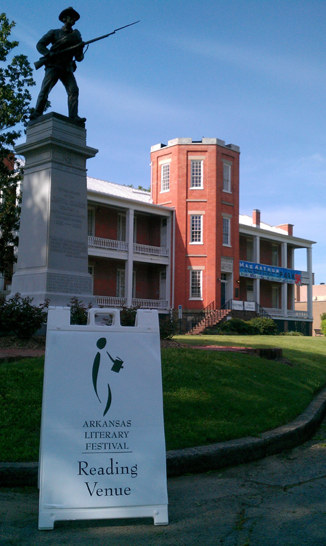 The museum partners with the Arkansas Literary Festival to help make it a success.