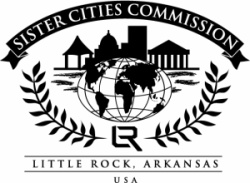 Little Rock Sister Cities Commission logo