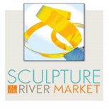 Sculpture at the River Market Logo