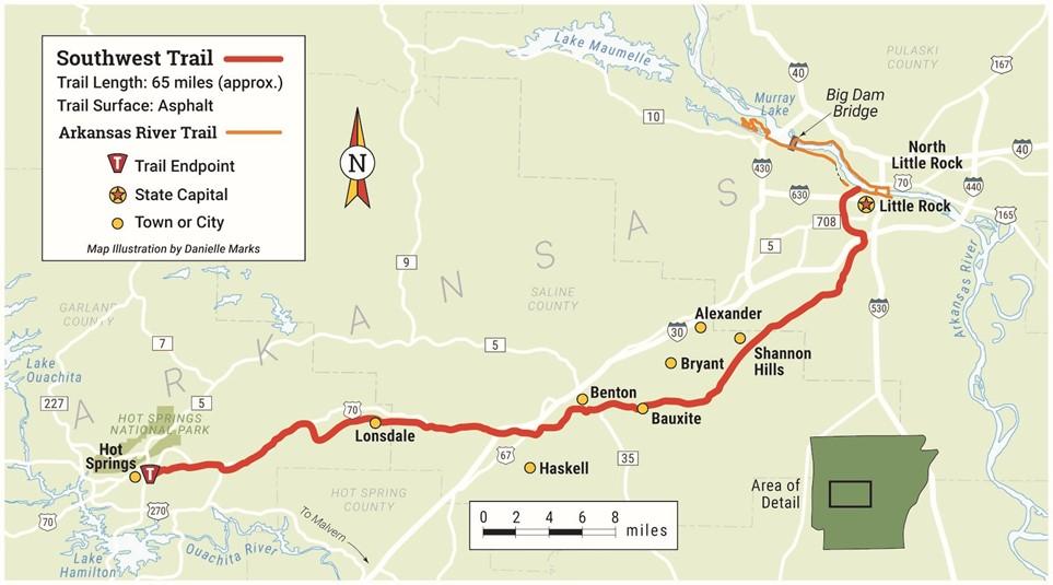 Image result for southwest trail arkansas